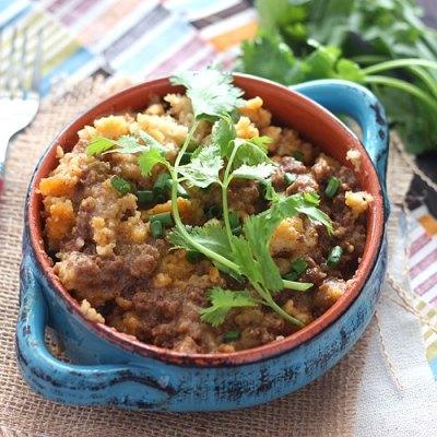 Slow Cooker Tamale Pie Casserole
