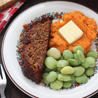 Barbecue Bacon Meatloaf