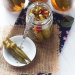 Spicy Pickled Okra - CookingBride.com