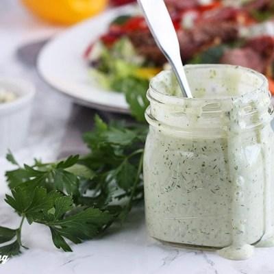 Creamy Herb Salad Dressing