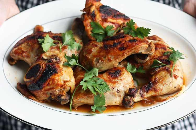 Oven Baked Barbecue Chicken