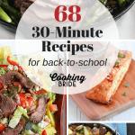 30 Minute recipes