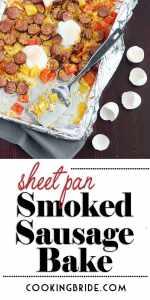 smoked sausage bake