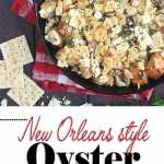 New Orleans Style Oyster Dressing