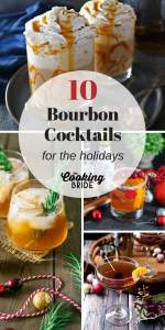 10 Bourbon Cocktails for the Holidays P