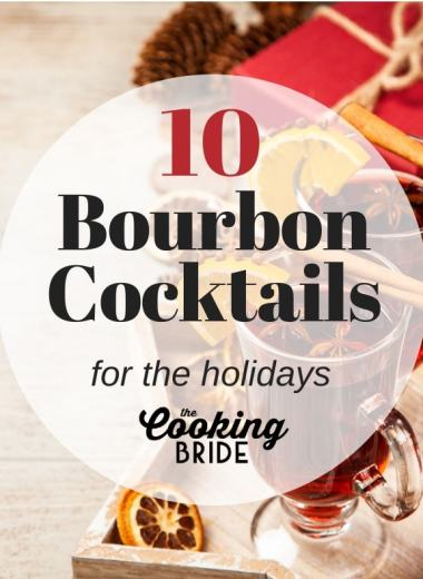 Bourbon cocktails for the holidays