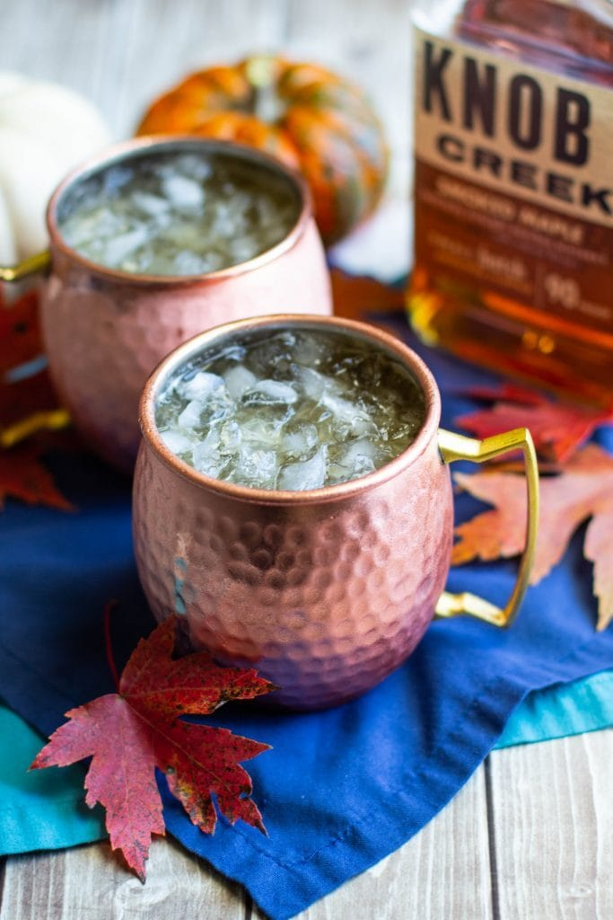 Maple Bourbon Moscow Mule