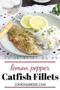 lemon pepper catfish fillets