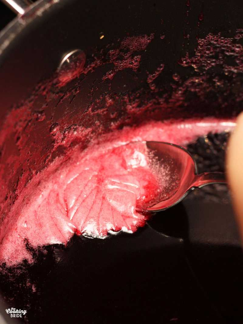 skimming the foam off the jelly