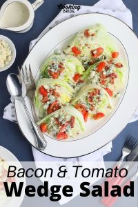 bacon and tomato wedge salad