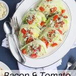 bacon and tomato wedge salad
