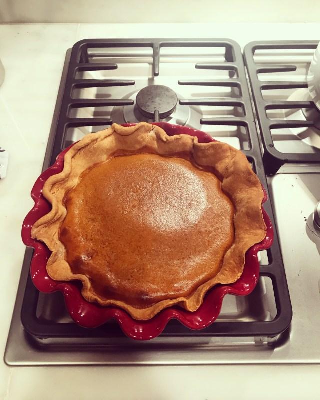 Alicia Froio, Cooking, DC, Pumpkin Pie
