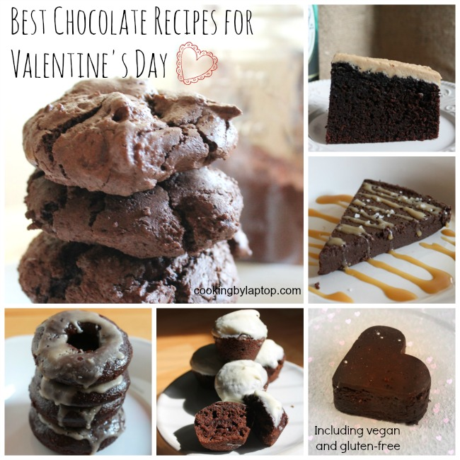 best chocolate recipes for valentines day including gluten free and vegan