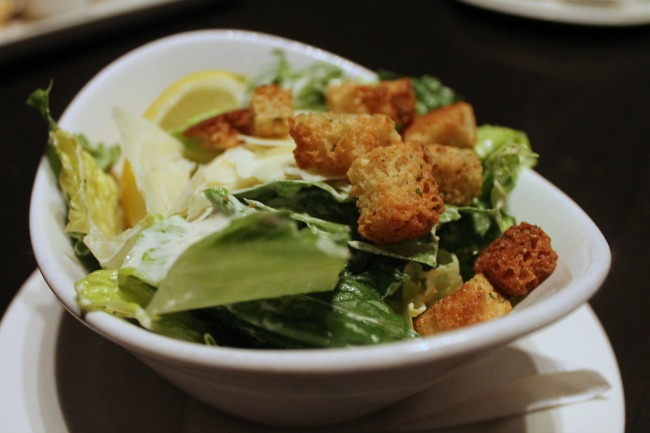 the keg caesar salad