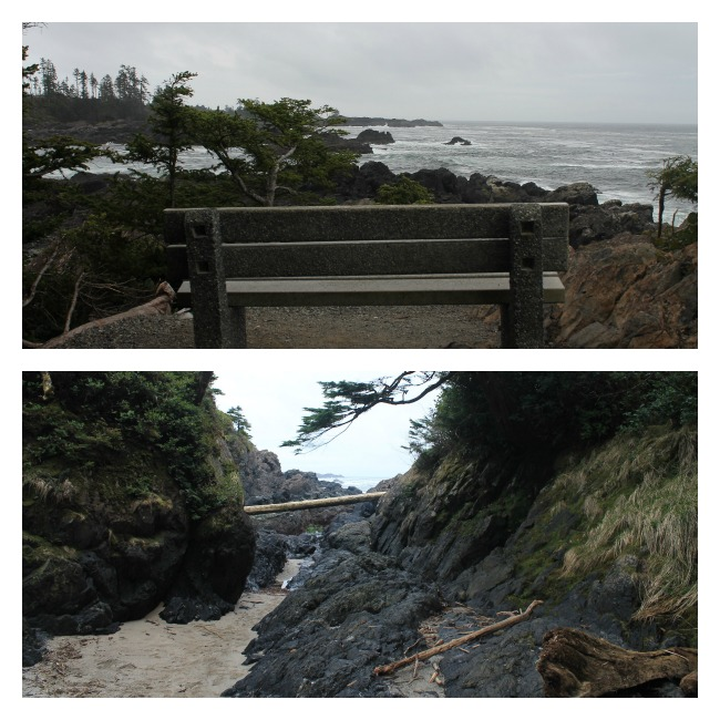 ucluelet beach collage