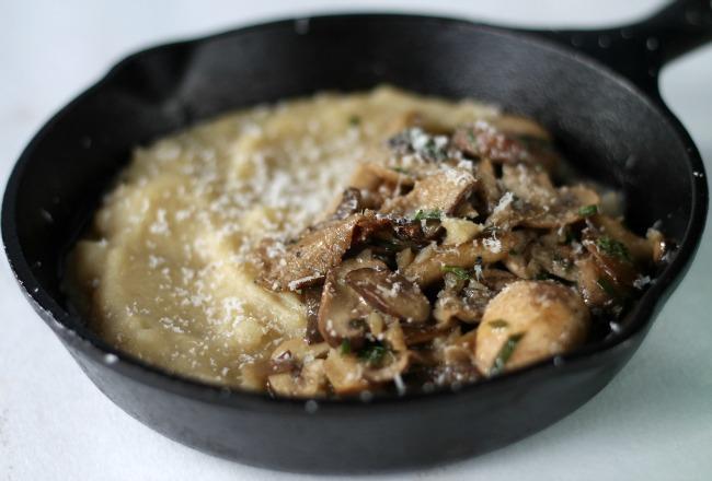 mushrooms and polenta ottolenghi