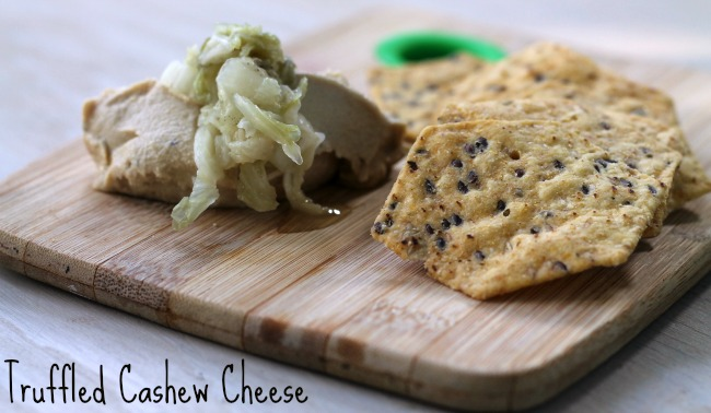Truffled Cashew Cheese