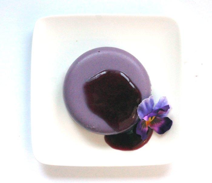 Purple Panna Cotta Vegan