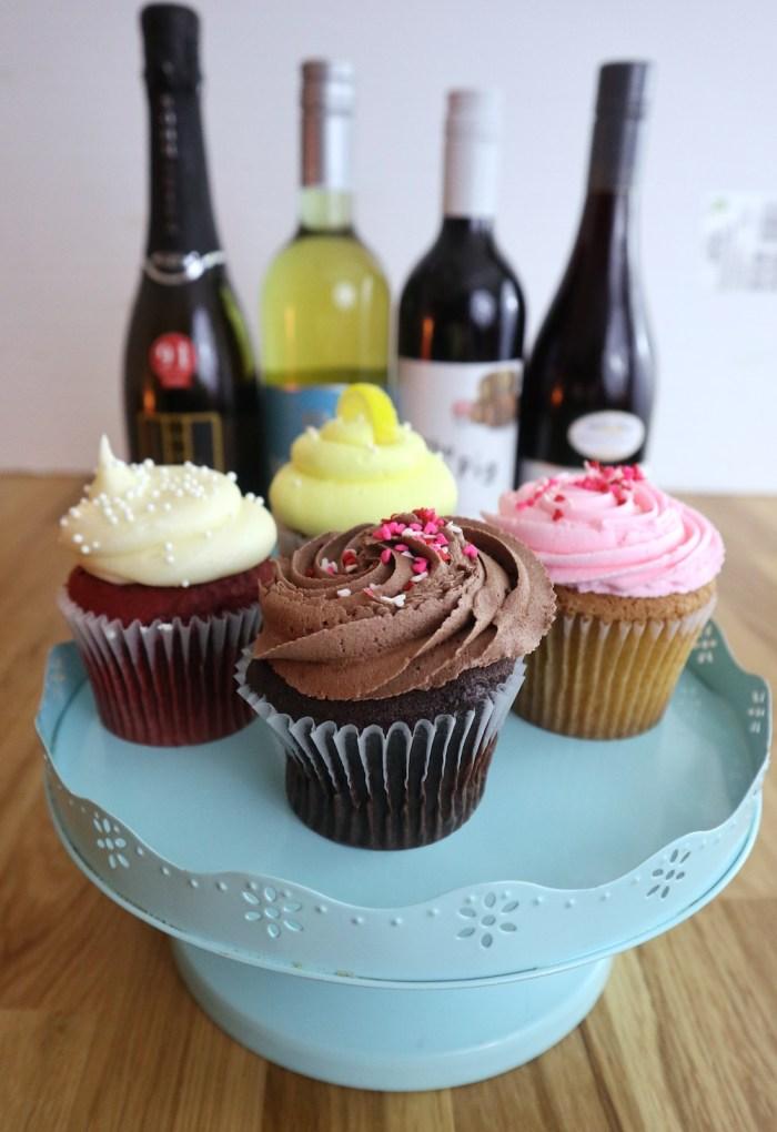 Wine & Cupcake Pairings