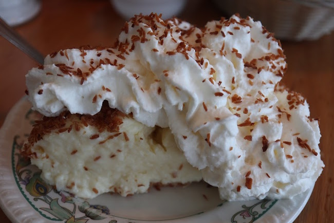 Coconut cream pie I fly for pie