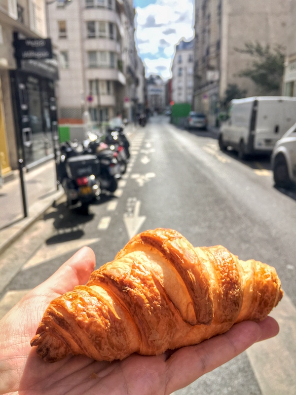 Authentic Paris Croissant