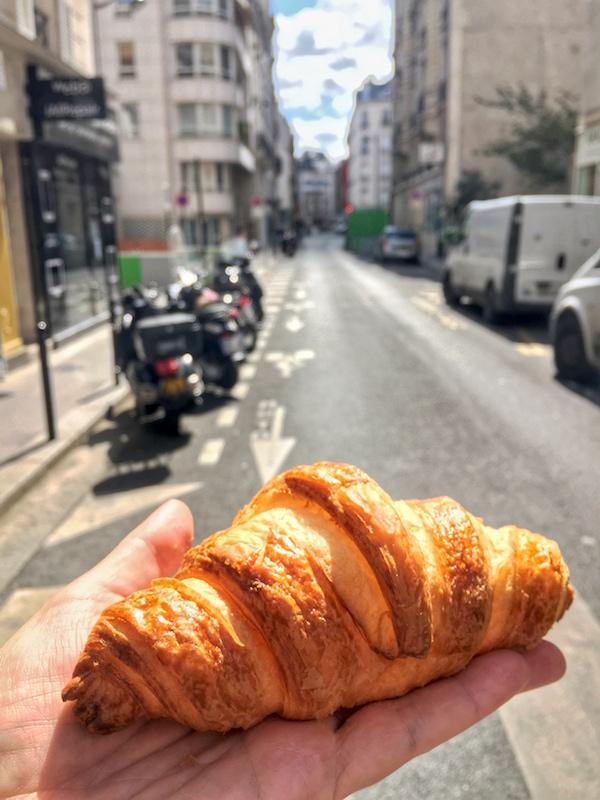 Authentic Paris Croissant