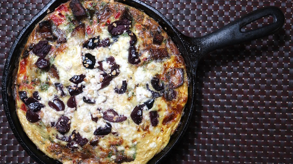 Mediteranian Frittata Best of Bridge