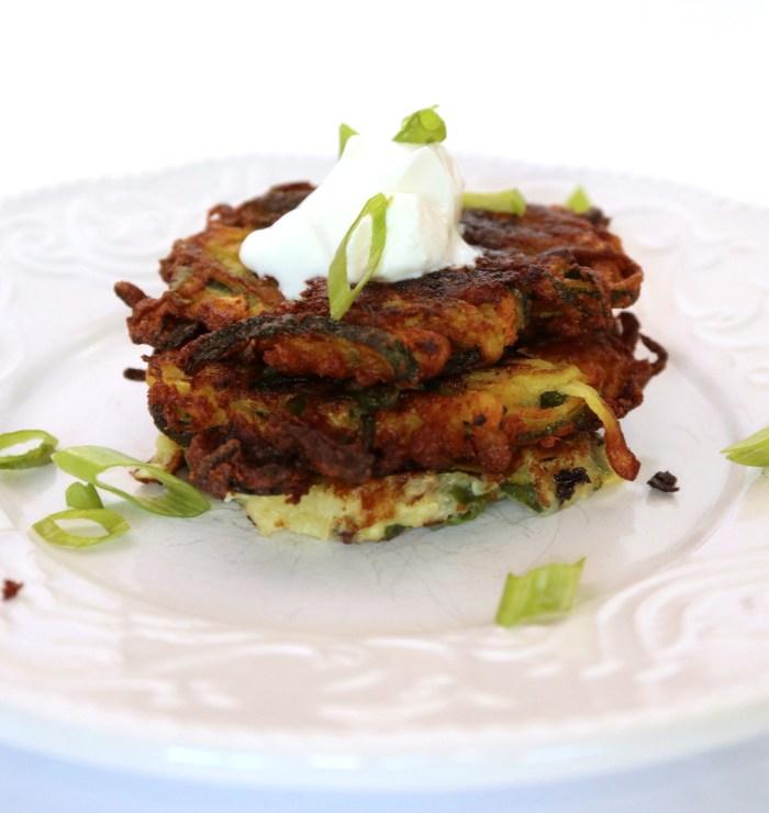 Zucchini Fritters Vegan Gluten Free