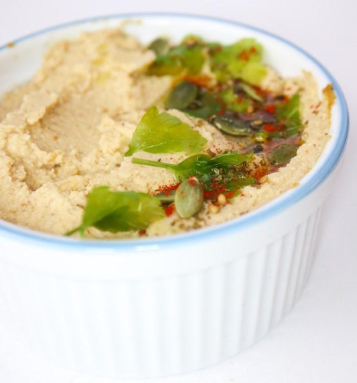 Cauliflower Hummus Vegan Paleo