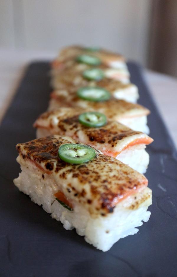 Vegan Aburi Sushi Mila