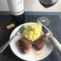 BBQ Baked Steak Tips with Wine from Uruguay #winePW