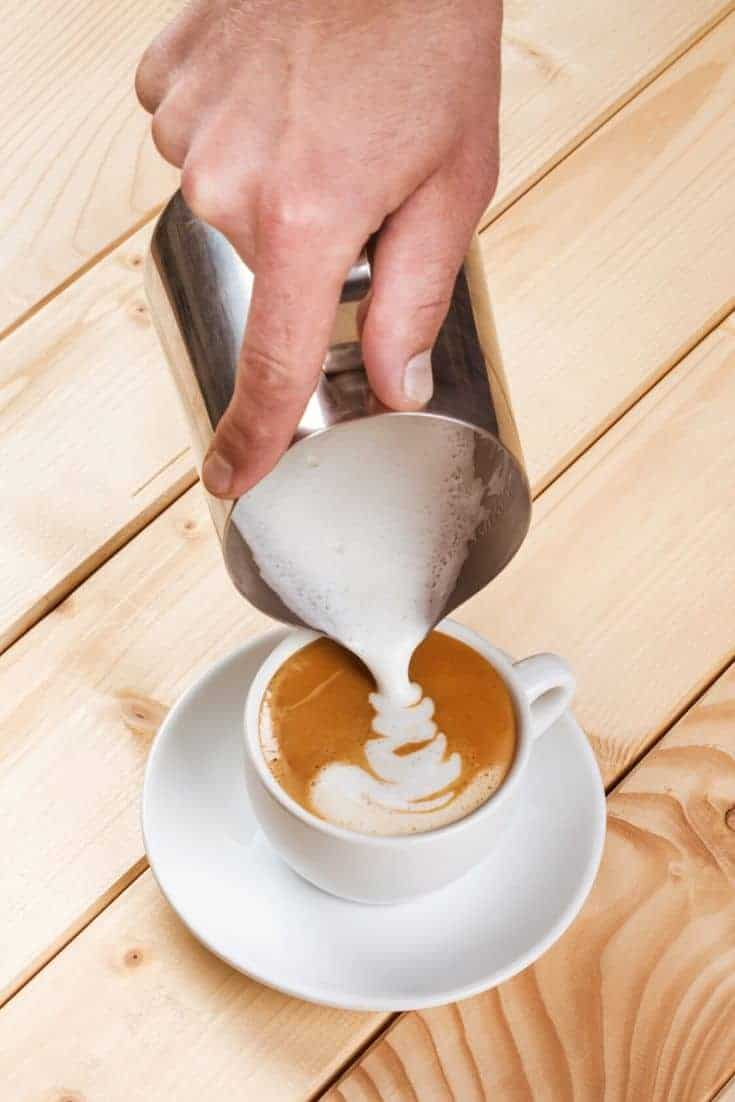 how to froth milk using a microwave