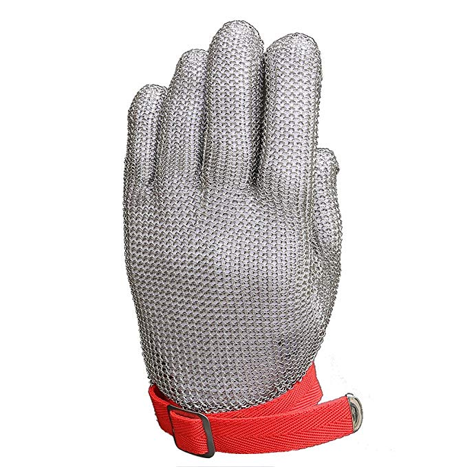 stainless steel mesh glove