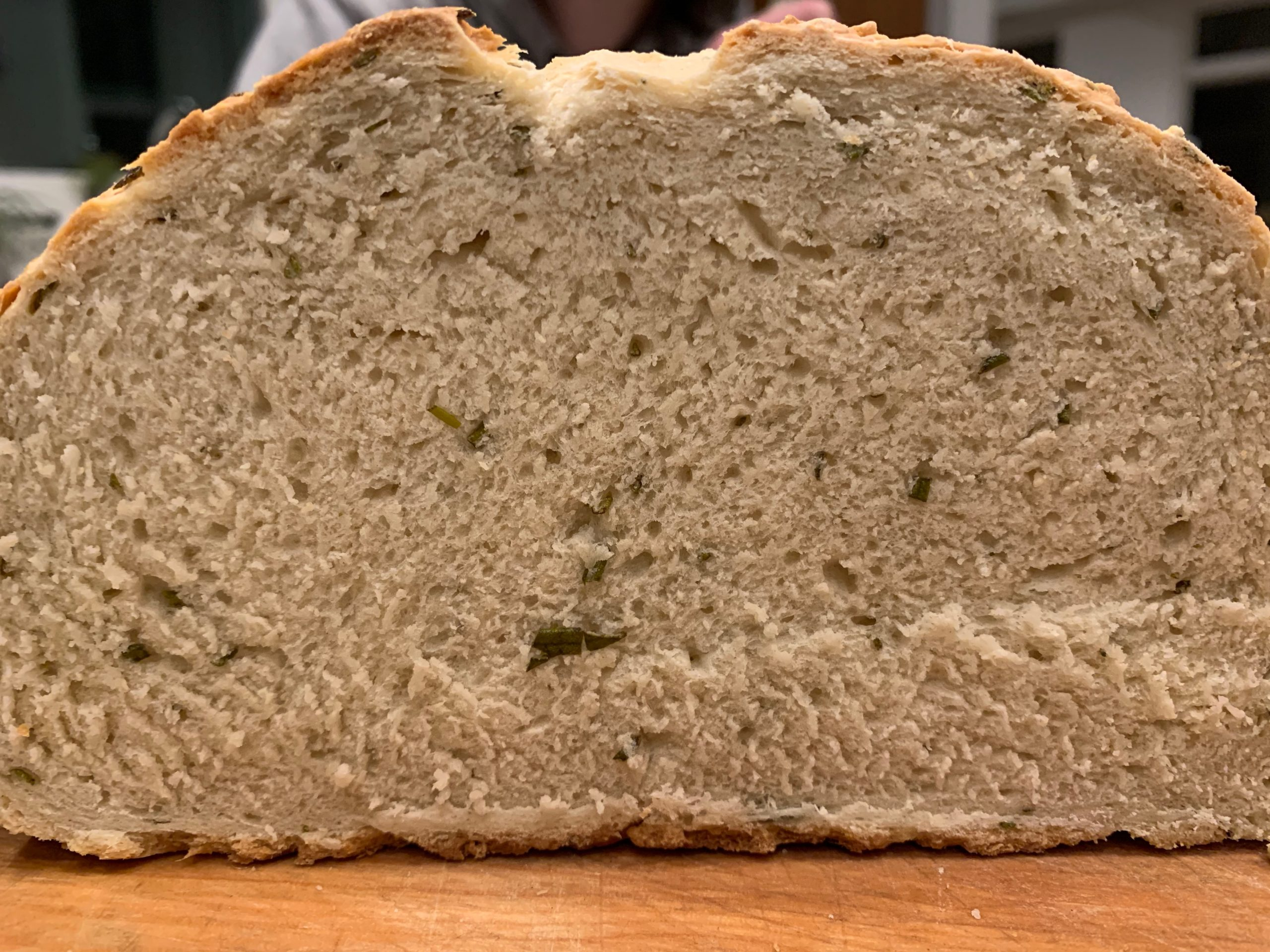 Rosemary Bread Sliced - CookingCoOp.com