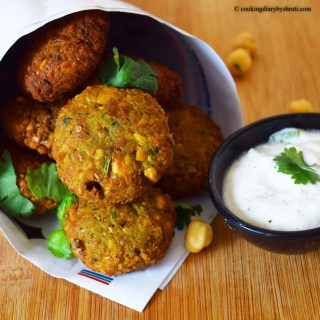 Homemade Falafel with Tzatziki