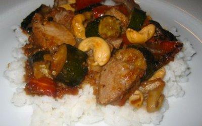 Cashew Pork