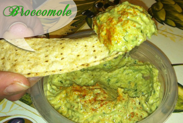 Broccomole | Guacamole Made With Broccoli