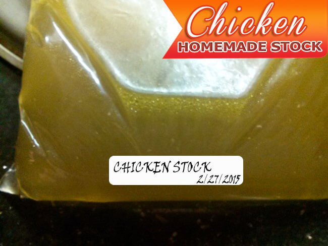 Homemade Chicken Stock from Carcass