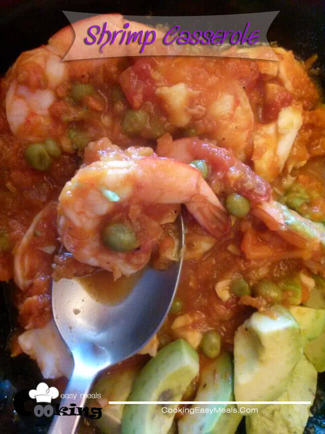 Shrimp Casserole | Easy One Dish Meals