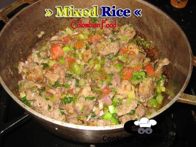 Mixed Rice | Colombian Food Recipes