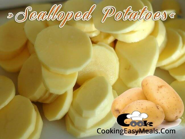 Scalloped Potatoes slices