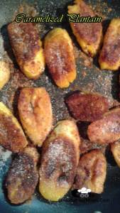 Caramelized Plantain with Cinnamon | Colombian Recipes