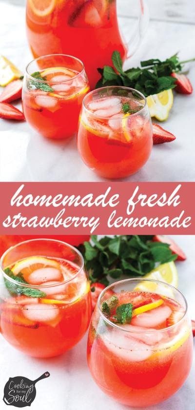 Best Homemade Lemonade with Mint Leaves as Garnish