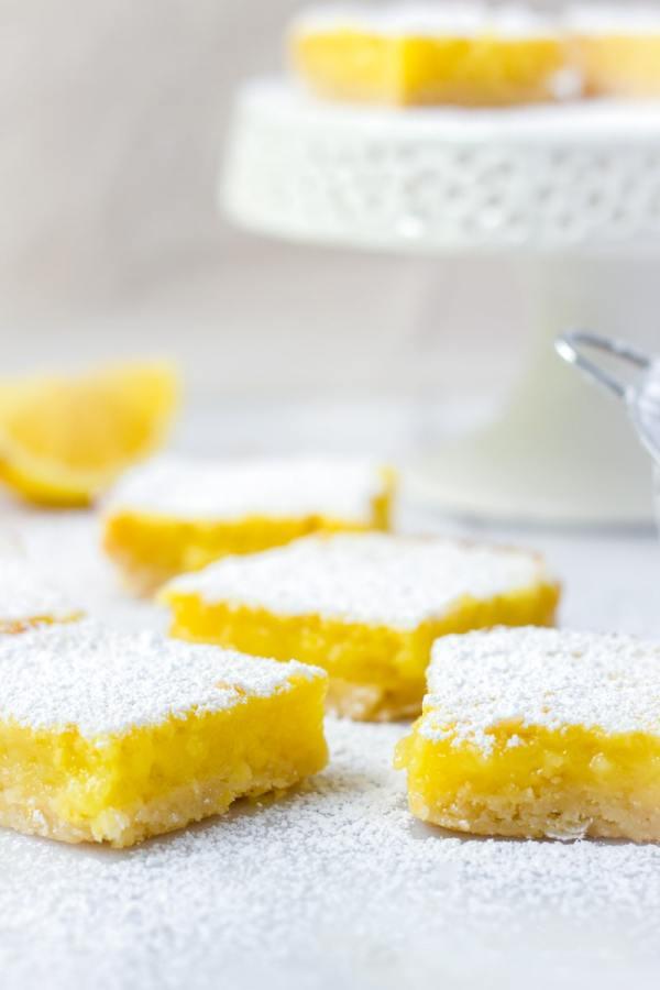 Easy Lemon Bars Recipe with Shortbread Crust