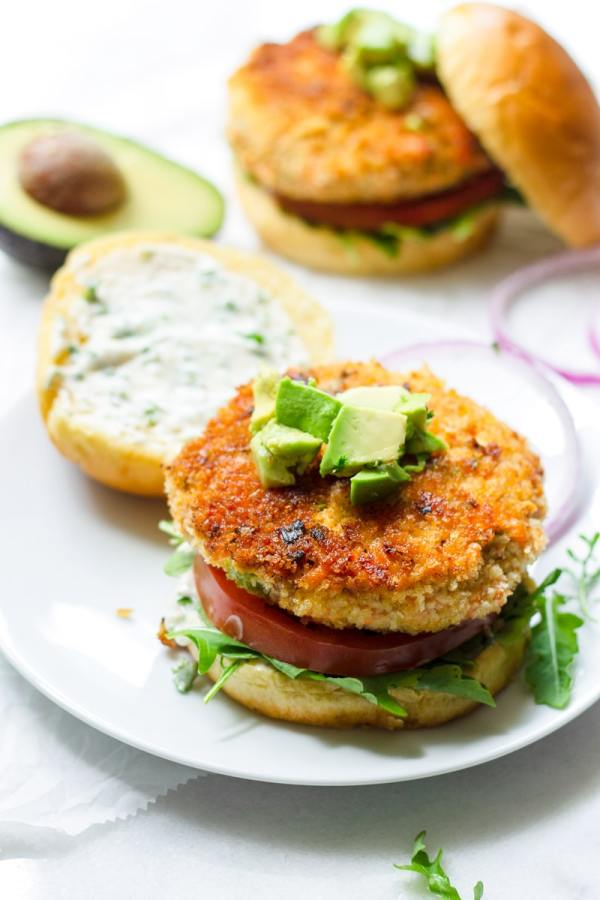 Easy Fresh Salmon Burger Patties