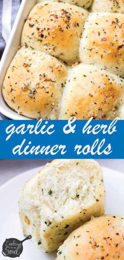 Herb Dinner Rolls Buttery