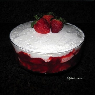 Strawberry Trifle Recipe on Cooking for the Holidays