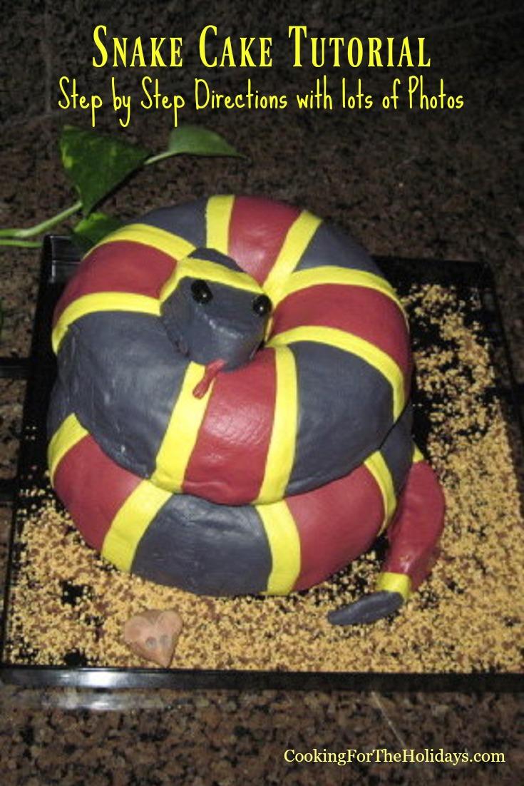 Snake Cake Tutorial