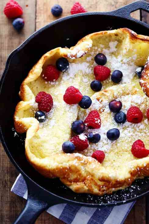 German Oven Pancake Recipe