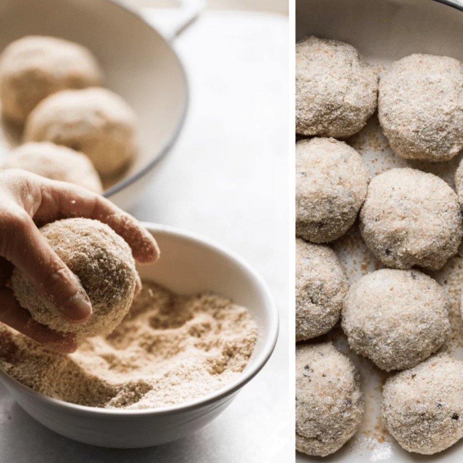 Low Carb Chicken Meatballs With Parmesan